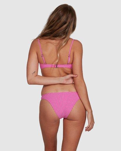5 Wave Check Bralette Bikini Top  6592724X Billabong