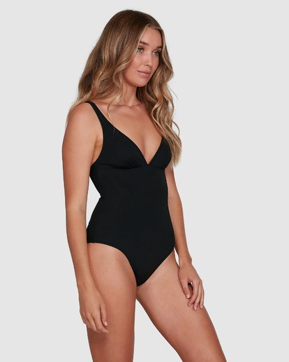 2 Sol Searcher Plunge Lowrider One Piece Black 6592745X Billabong