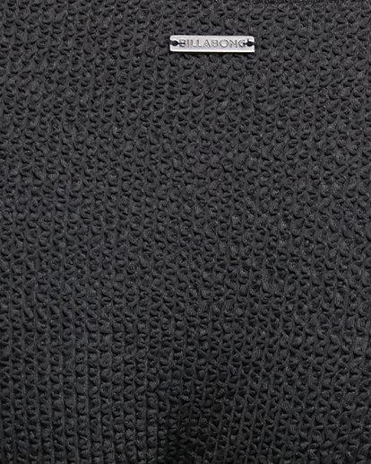 6 Summer High Ring Bralette Bikini Top Black 6592764X Billabong