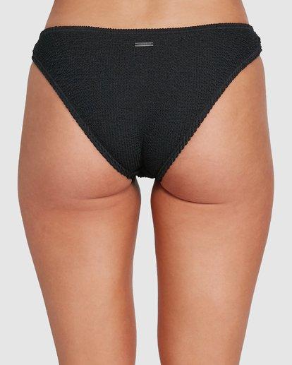 4 Summer High Ring Tropic Bikini Bottom Black 6592765X Billabong