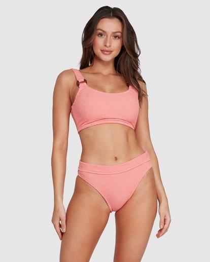 3 Summer High Tank Bikini Top Orange 6592772X Billabong
