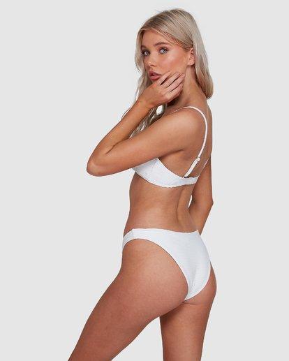 5 Tanlines Bralette Bikini Top White 6592774X Billabong