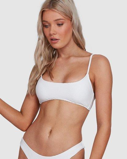 0 Tanlines Bralette Bikini Top White 6592774X Billabong