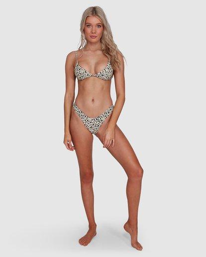 8 Fun Zoo Tri Bikini Top Brown 6592779X Billabong