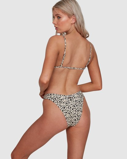 6 Fun Zoo Hike Bikini Bottoms Brown 6592780X Billabong