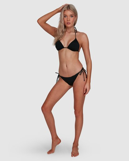 8 Sol Searcher Tri Bikini Top Black 6592781X Billabong