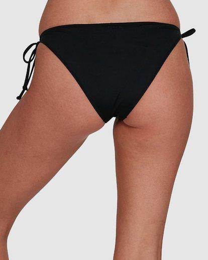 4 Sol Searcher Tie Side Bikini Bottoms Black 6592782X Billabong