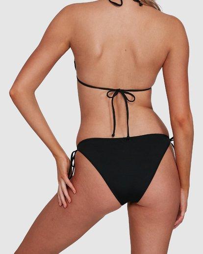 5 Sol Searcher Tie Side Bikini Bottoms Black 6592782X Billabong
