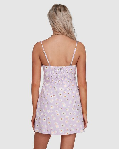 5 Del Sol Franca Dress Purple 6592906X Billabong