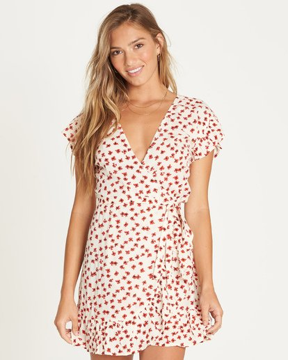 0 Wrap And Roll Dress  6592909X Billabong