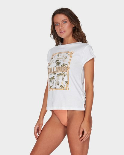 1 PARADISE FOUND TEE White 6595002 Billabong