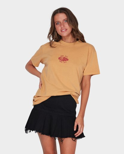 1 SURF CITY TEE Yellow 6595004 Billabong