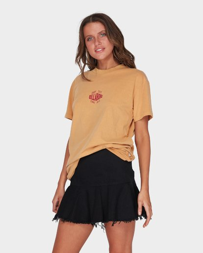 2 SURF CITY TEE Yellow 6595004 Billabong