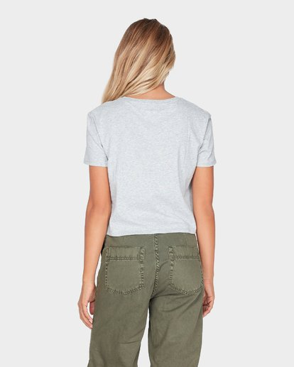 2 HEADLINE CROP TEE Grey 6595008 Billabong