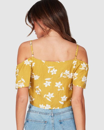 4 LIFE ON HOLD TOP Yellow 6595092 Billabong