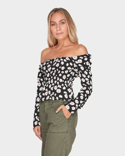 1 MARGHERITA TOP Black 6595109 Billabong