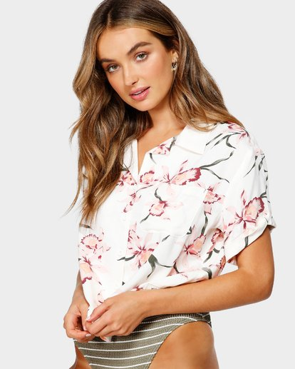 2 SUMMER BLOOM SHIRT Beige 6595117X Billabong