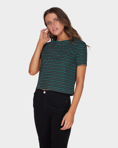 1 COMMON MUSE TEE Green 6595134 Billabong