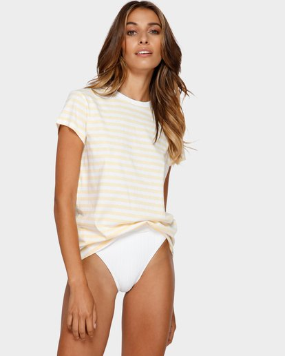 1 SORBET STRIPE TEE  6595137X Billabong