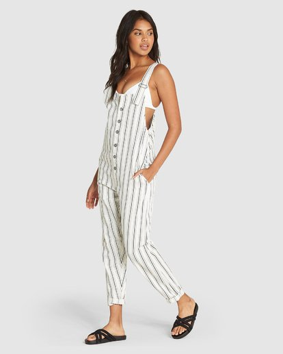 1 SUN SEEKER JUMPSUIT White 6595424X Billabong