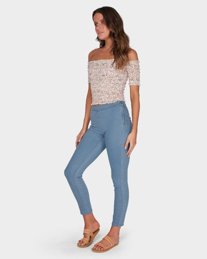 1 SLICK KICK JEAN Blue 6595431 Billabong