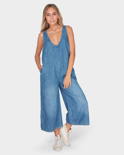 4 VALERIA JUMPSUIT Blue 6595434 Billabong