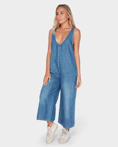 2 VALERIA JUMPSUIT Blue 6595434 Billabong