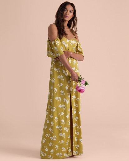 0 SHOULDER SWAY MAXI DRESS  6595473 Billabong