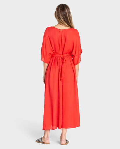 2 FOREVER FINE DRESS Red 6595490X Billabong
