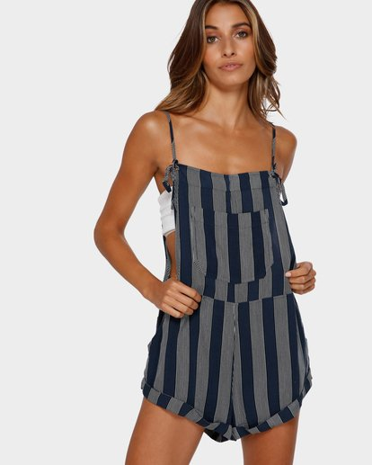 1 BLUE MOON STRIPE OVERALLS  6595500X Billabong