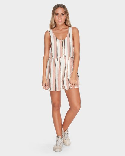 3 BYRON BAY PLAYSUIT Brown 6595503 Billabong