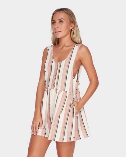 1 BYRON BAY PLAYSUIT Brown 6595503 Billabong