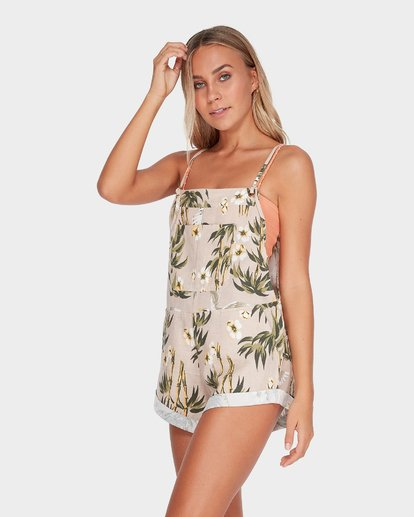 1 WILD PURSUIT BAMBOO ONESIE  6595504 Billabong