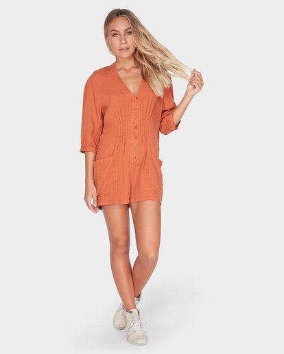 4 SUNDAY VIBES ONESIE Brown 6595511 Billabong