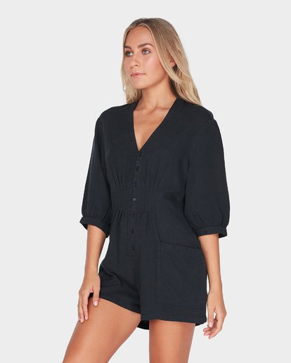 1 SUNDAY VIBES ONESIE Black 6595511 Billabong