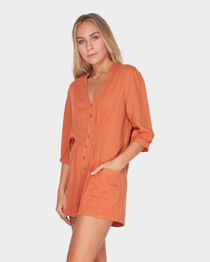 2 SUNDAY VIBES ONESIE Brown 6595511 Billabong