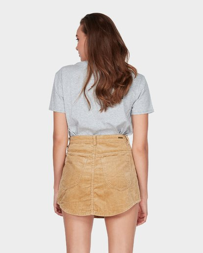 2 BEYOND THE VALLEY SKIRT Yellow 6595529 Billabong