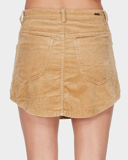4 BEYOND THE VALLEY SKIRT Yellow 6595529 Billabong