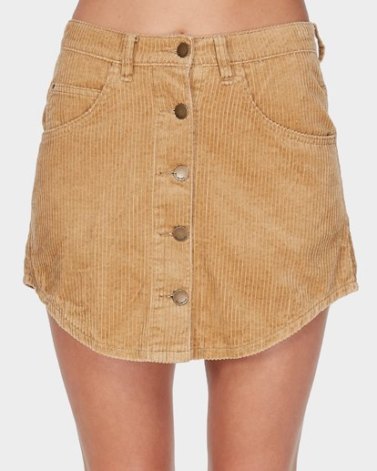 3 BEYOND THE VALLEY SKIRT Yellow 6595529 Billabong