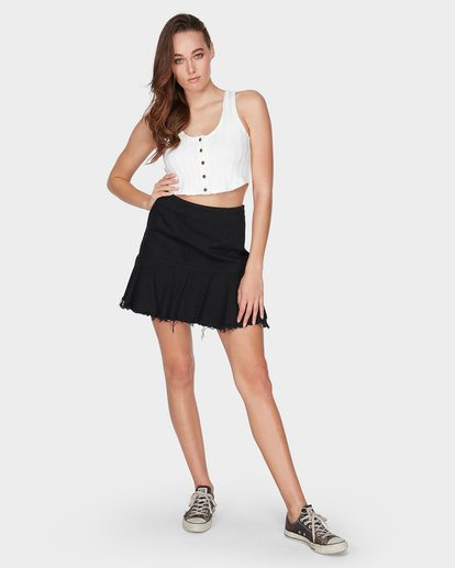 4 WILD DANCE SKIRT Black 6595530 Billabong