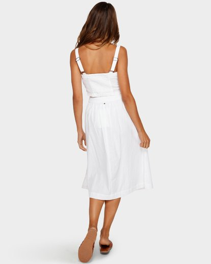 4 ALHAMBRA MIDI SKIRT White 6595533M Billabong
