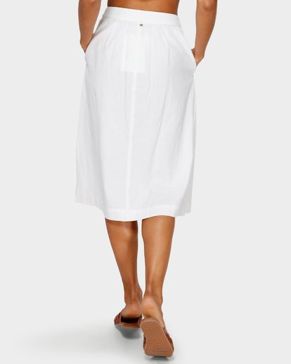 6 ALHAMBRA MIDI SKIRT White 6595533M Billabong