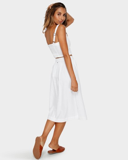 3 ALHAMBRA MIDI SKIRT White 6595533M Billabong