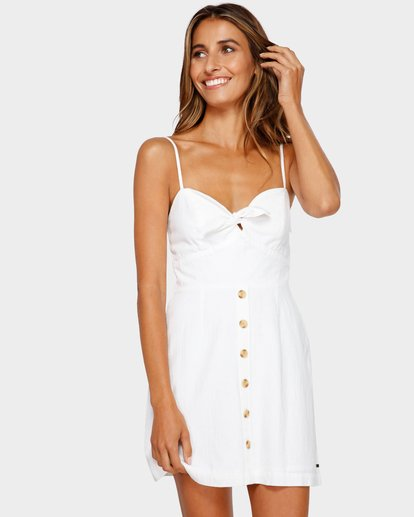 1 Franca Dress White 6595536M Billabong