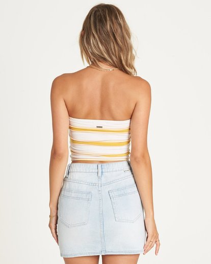 2 GOOD LIFE INDIGO SKIRT Yellow 6595549X Billabong