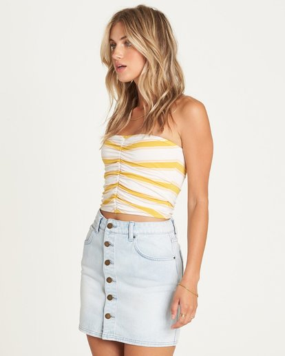 1 GOOD LIFE INDIGO SKIRT Yellow 6595549X Billabong