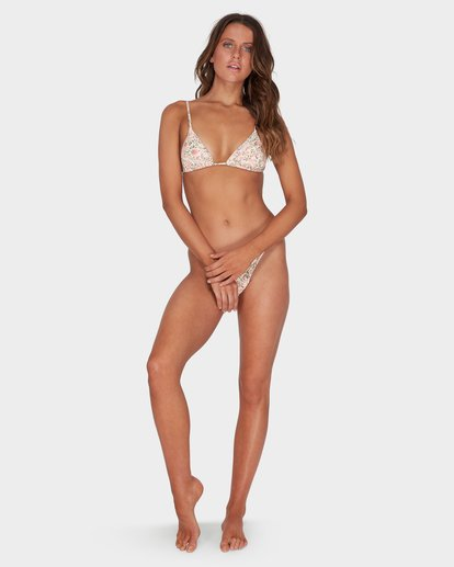 5 GARLAND SLIDE TRI BIKINI TOP Beige 6595579 Billabong