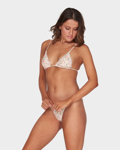 1 GARLAND SLIDE TRI BIKINI TOP Beige 6595579 Billabong