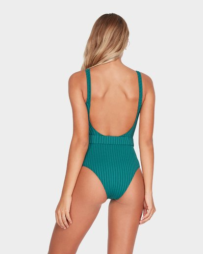 2 SUNS OUT RIB ONE Green 6595586 Billabong