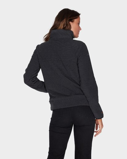 2 BOUNDARY MOCK HALF ZIP FLEECE Black 6595733 Billabong